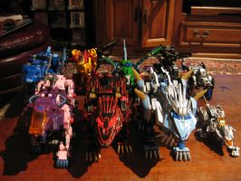 Repainted Zoids by MidnightLiger0