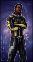 Mass Effect: Jacob Taylor by Lukael-Art
