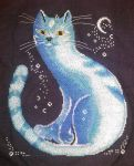 Moon Cat by orinne