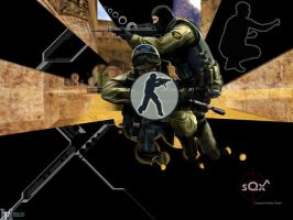 sQx Counter-Strike Team by MakeenFire