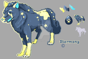 Wolf Design Starmony by krokus00
