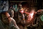 Boba Fett vs Zombies by chrisscalf