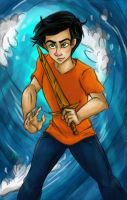 Son of Poseidon by TottieWoodstock