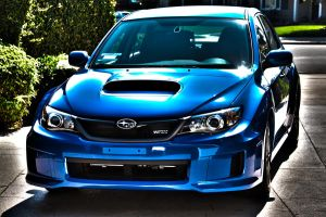 2012 Subaru WRX in HDR by wrongpixel