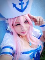 Sailor Super Sonico at your service! by CitrusHeartCosplay