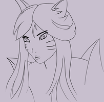 Ahri by mikey4realz
