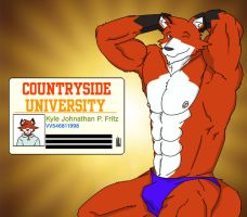After College ver. 2 by WolfoxOkamichan