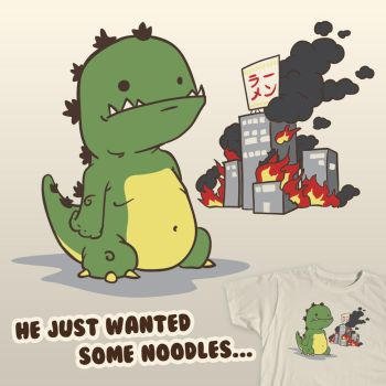 He Just Wanted Some Noodles by jdstone