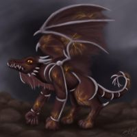 Fiery Dragon.... Thing by Ms-Silver