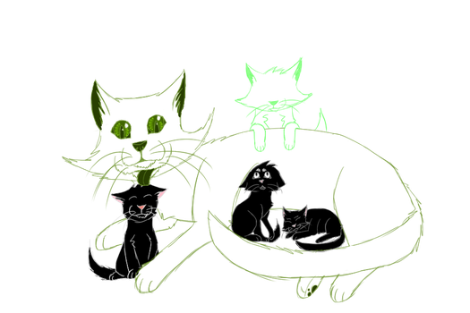 All them Homestuck kitties by Swifttail28