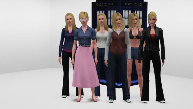 The Sims 3 - Doctor Who - Rose Tyler by exangel42
