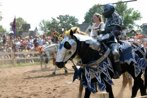 Jousting - Shining Armor 6 by Furaha015
