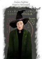 Philosopher's Stone - Minerva McGonagall by Cherry-nichan