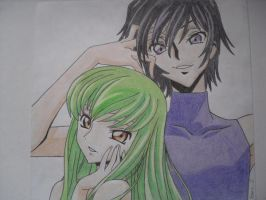 CC and Lelouch by Aldric-Cheylan