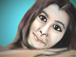 Woman face study n54 by lv888