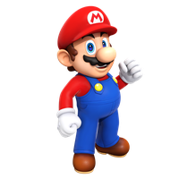 Super Mario Render Brothers by Nibroc-Rock