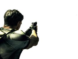 Chris Redfield Aim by Squall-Darkheart