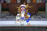 Francis, Lilly y Donald cantando New York,New York by limaneko