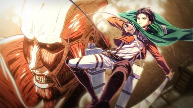 Attack on Titan by Justass