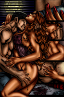 Witchblade 104 Step 2 -Shading by darkmagistric