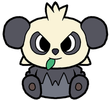 Pancham Pokedoll Art by methuselah-alchemist