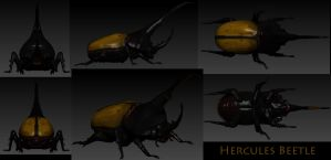 Hercules Beetle by Yggdrassal