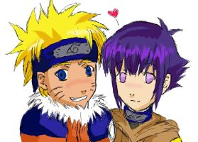 Naruhina - smile by Airashaii