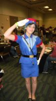 Megacon 2013 Officer Jenny by Oblivion-Evil