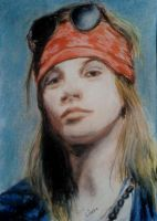 Axl Rose by DirinXan
