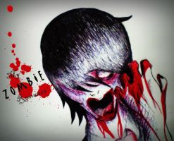 My ZOMBIE Romance by IWantTheFiction