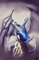 Ice dragon by wla91