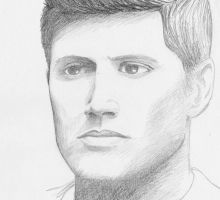 Jensen Ackles - sketchy like 6 by kelly42fox