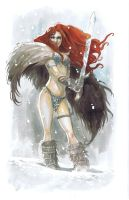 Red Sonja by ryuloulou