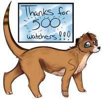 Thanks for 500 watchers! + tutorial...thing by Spottedfire23