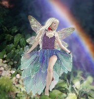 Rainbow Forest Fairy by jantheempress
