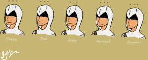 The Many Moods of Altair by SGunthur