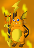 N-Warrior: Raichu Lightning (Pokemon) by NWSaiyanX