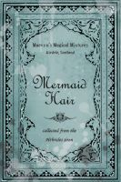 Mermaid Hair Potion Label by pigtailgoddess