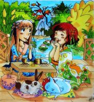 Tea Party by natsumi33