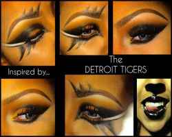 Detroit Tigers by SirenArtistry