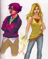 Runaways S1 sketches 02 by bluestraggler