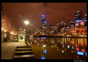 Night: Melbourne City by DanielleMiner