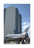 "Atlantis ""VAB Bound"" by OpticaLLightspeed"
