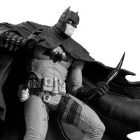 Rafael Grampa  Batman black and white by BLACKPLAGUE1348