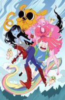 AdventureTime fan art by MargueriteSauvage