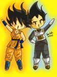 BAM BAM those new outfits by dbz-senpai