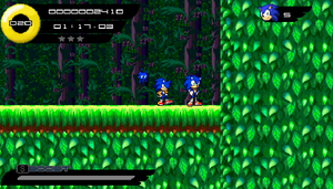 Sonic Legends SAGE 2014 Easter Egg Screenshot by HomingMissile333