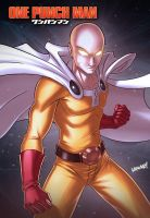 One Punch Man by iANAR