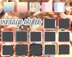 Vintage Styles by malueditions