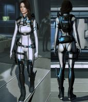 ME3 EDI-Jill Outfit by nameislooney